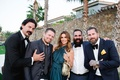 Barbie Blank and Sheldon Souray destination wedding celebrity guests including Cindy Crawford