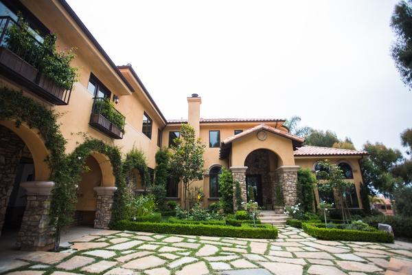mediterranean style malibu house