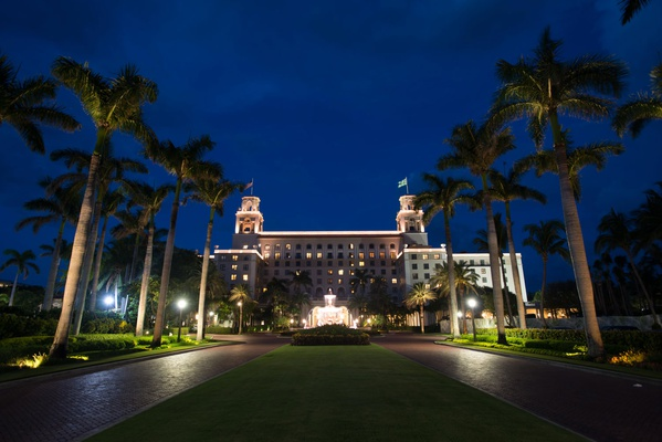 the breakers palm beach outside at night, the breakers wedding reception, palm beach wedding ideas