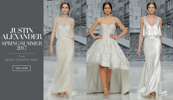 9c2eb8a9ffc Wedding Dresses  Justin Alexander Spring Summer 2017 Collection ...