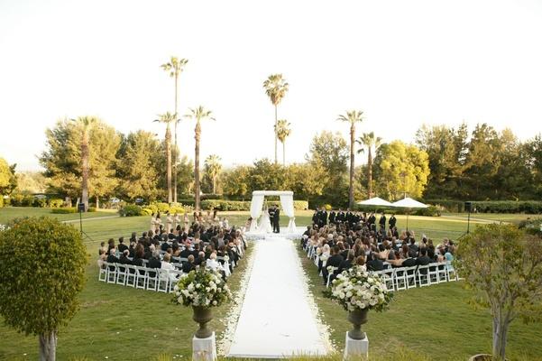 Wedding Photography Pasadena Ca: Classic Wedding With Shades Of Gold In Pasadena