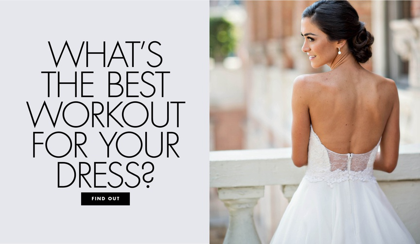 what's the best workout for your wedding dress bridal workout routines