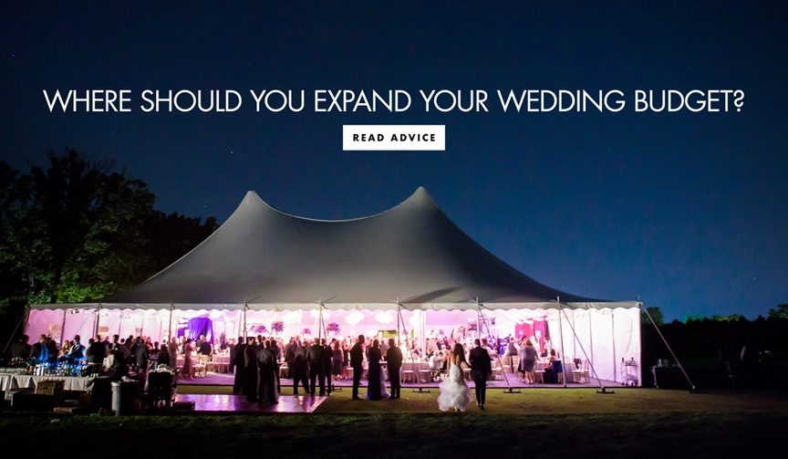 wedding planning things to splurge on, planning photography videography entertainment
