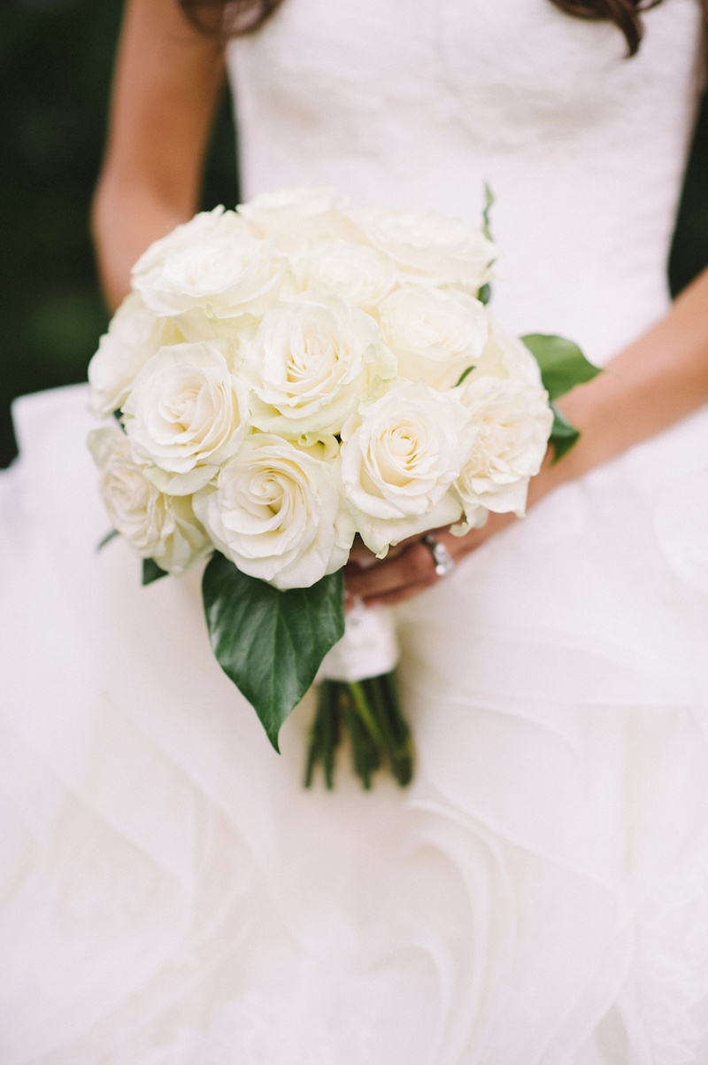 Bouquets Photos - Ivory Single-Variety Bridal Bouquet - Inside Weddings
