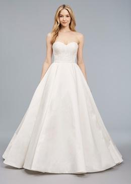 Blue Willow Bride Spring 2018 bridal collection Bennett wedding dress sweetheart neckline ball gown