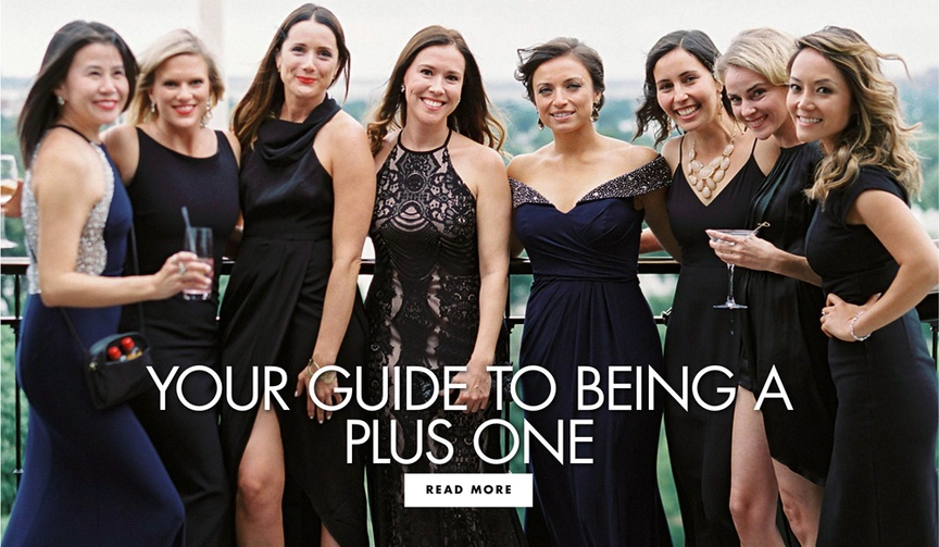 your guide to being a plus one wedding guest