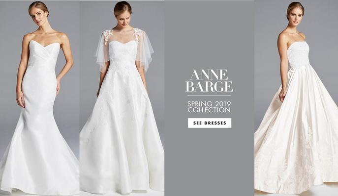 2276ce6800e Bridal Fashion Week  Anne Barge   Blue Willow Bride Spring 2019 ...