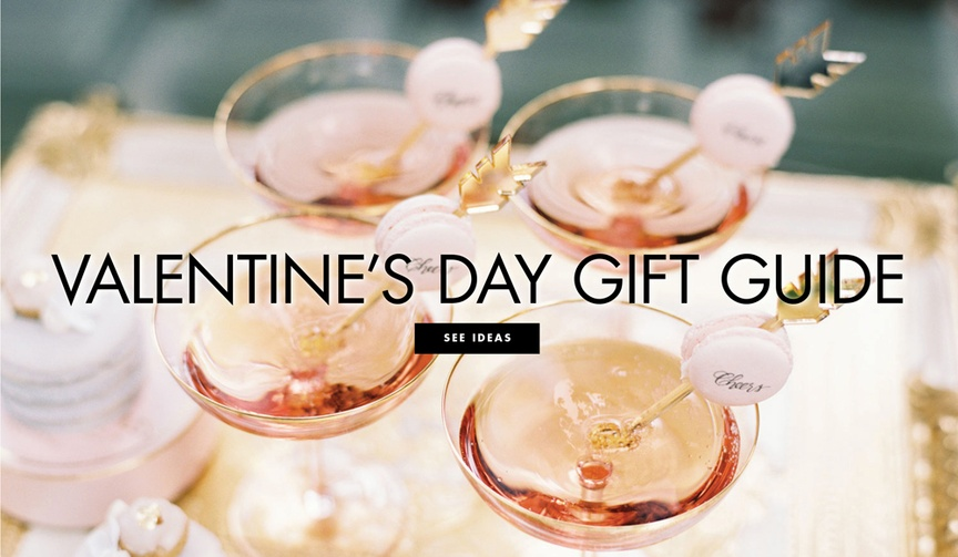 Valentine's Day gift guide gift present ideas for engaged couples married couples his hers him her