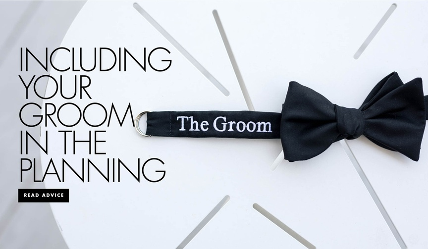 wedding planning tips for groom, how a groom can help with wedding planning