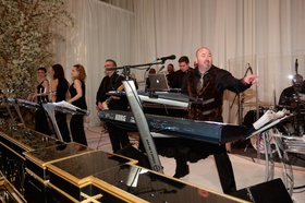 Wedding reception at The Standard Club, Chicago with Larry King Orchestra