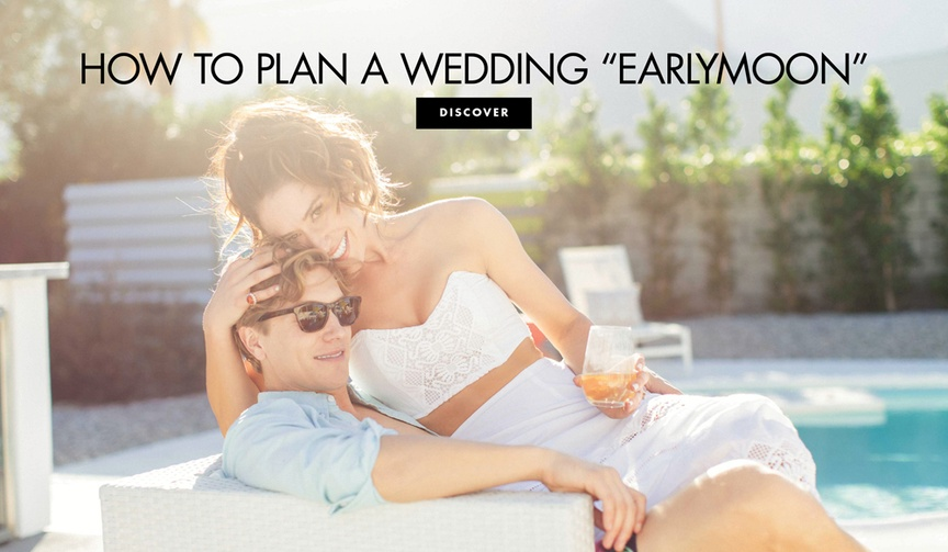 why should consider an earlymoon brides grooms couples honeymoon vacation planning stress getaway