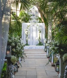 Palm Beach, Florida wedding ceremony outdoor for Real Housewives of New York City Luann de Lesseps