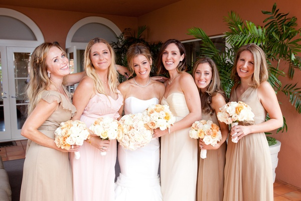 Mismatched Bridesmaid Dresses For Trendy Brides - Inside Weddings