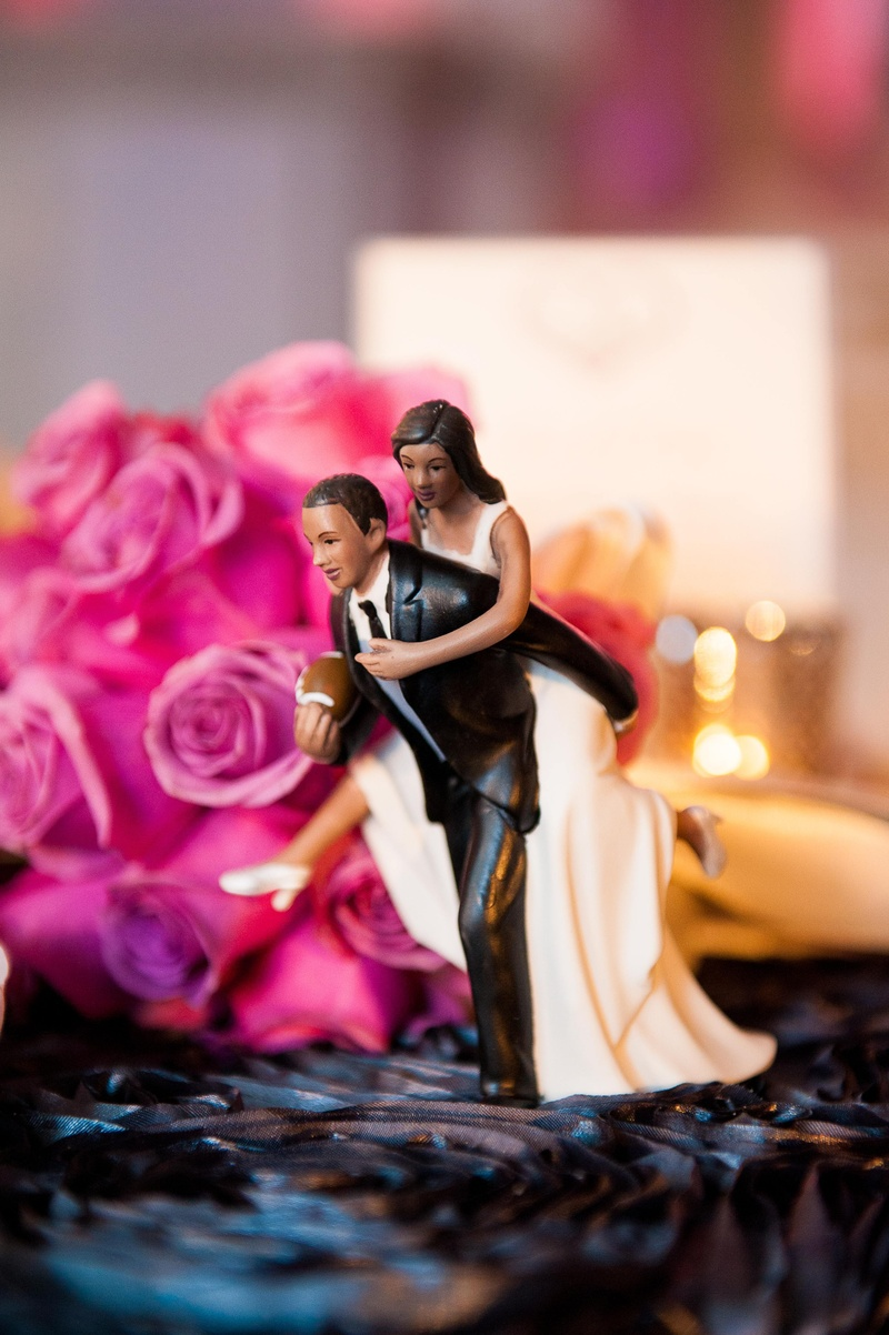 Cakes & Desserts Photos - Custom Cake Topper - Inside Weddings