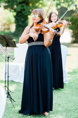 wedding ceremony musicians entertainment violin strings germany wedding