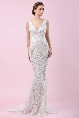 d86c7280234 Wedding Dresses  Gemy Malouf 2016 Bridal Collection - Inside Weddings