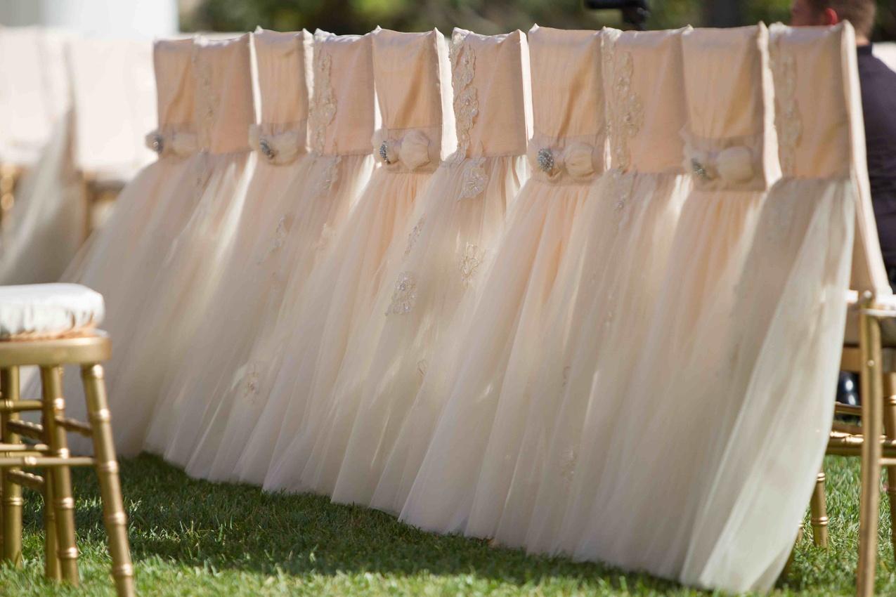 Wedding ceremony chair - Ceremony D Cor Photos