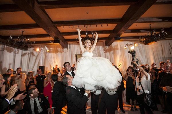 Jewish Wedding Reception Hora Dance