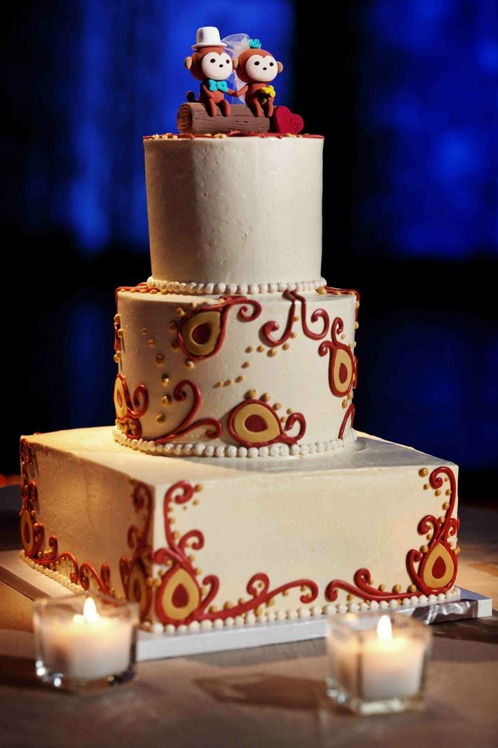 Cakes Desserts Photos Indian Wedding Cake Inside Weddings