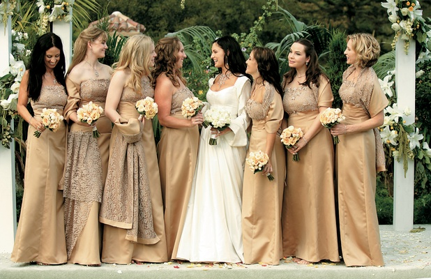 Jewelry Designer Michael Beaudrys Regal Montecito Wedding Inside