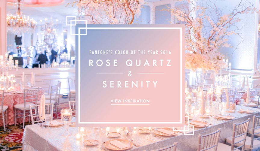2016 Pantone Color of the Year wedding ideas