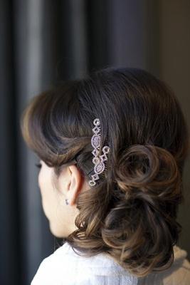 Circle and diamond headpiece accessories
