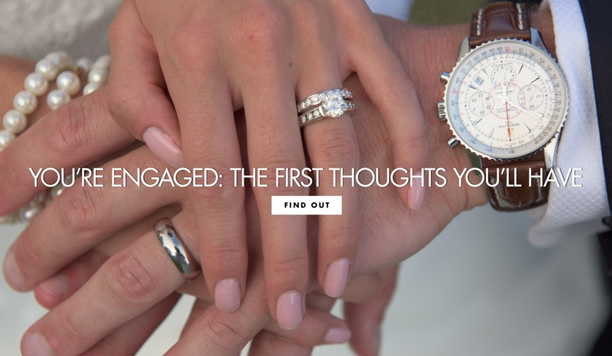 first thoughts you'll have engaged during proposal what goes through your head