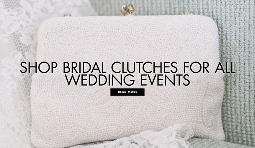 Shop bridal clutches for all wedding events wedding accessories