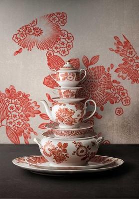 Coralina by Oscar de la Renta for Vista Alegre tableware collection