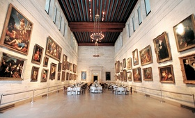 Boston art museum wedding event décor