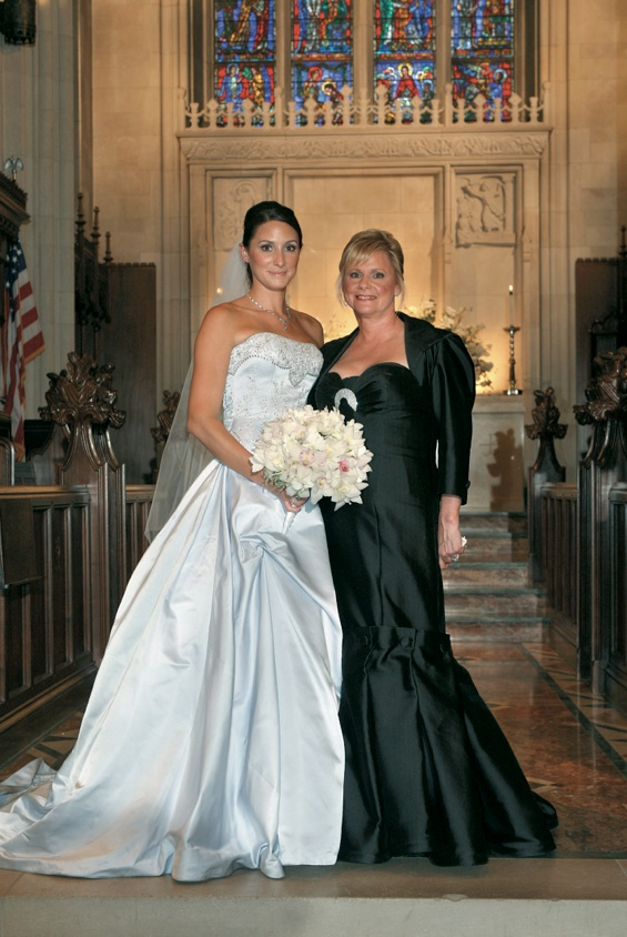 c17ccc45619 Mothers Photos - Black Mother-of-the-Bride Dress and Bolero - Inside ...