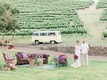 bride groom chic lounge space vintage california boho chic wedding styled shoot furniture vineyard