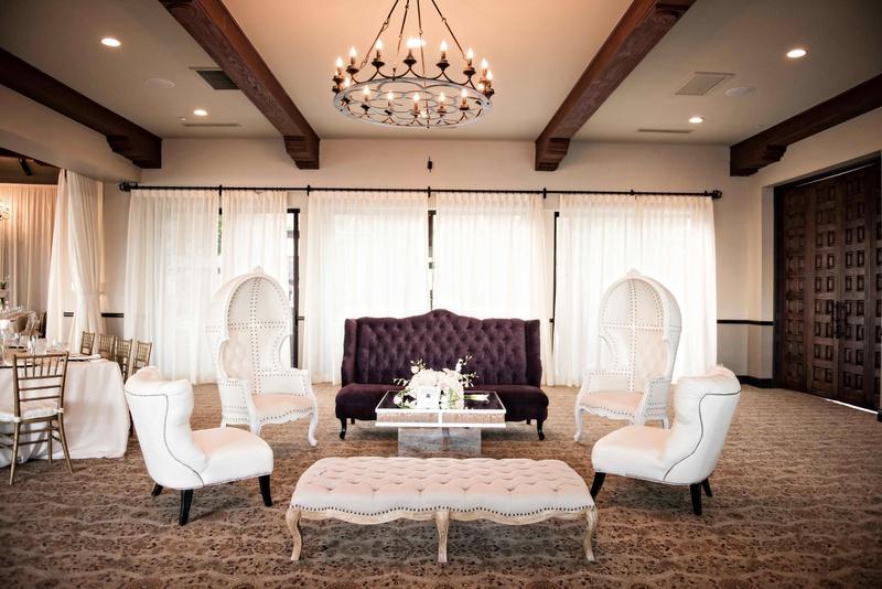 Ballroom Indoor Lounge Area Plush Furniture Bel Air Bay Club Sophisticated Southern  California Venue