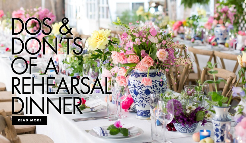 dos and don'ts of a rehearsal dinner how to plan the pre wedding event