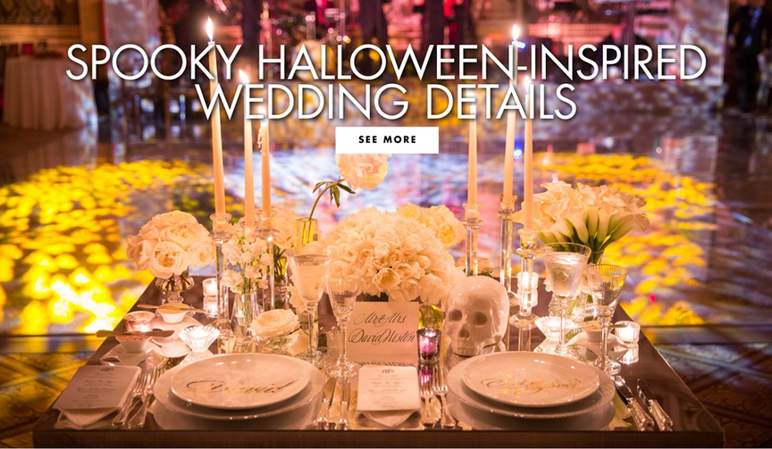 Spooky halloween wedding ideas decor ideas