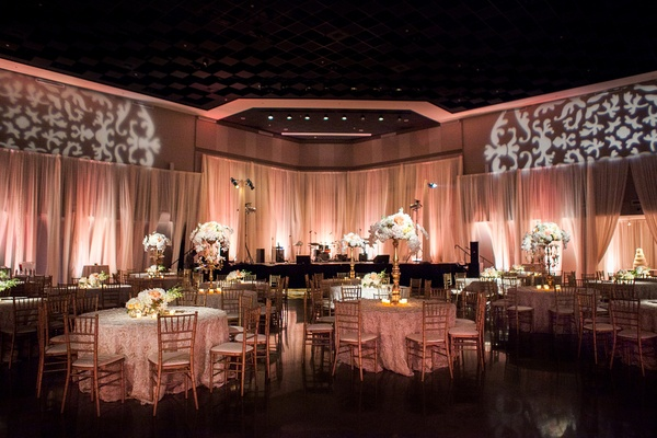 A Pink Traditional Southern Wedding At A Civic Center In Alabama