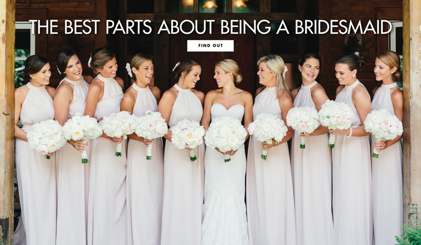 The best parts about being a bridesmaid wedding tips advice