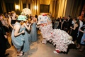 Chinese culture tradition lion dancer for wedding after-party