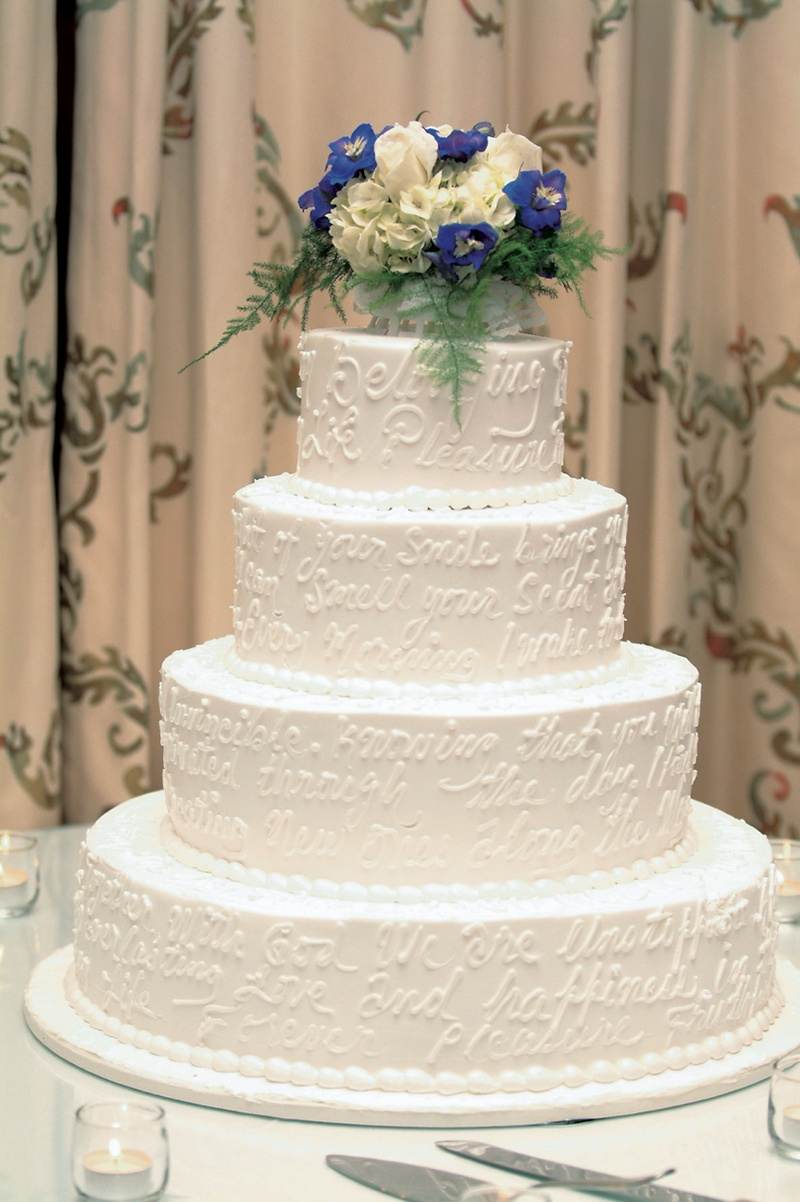 Cakes & Desserts Photos - Unique Cake Design - Inside Weddings