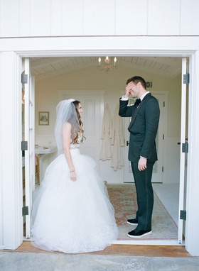 First look at San Ysidro Ranch for Brette Wolff in ball gown and Colorado Rockies Adam Ottavino