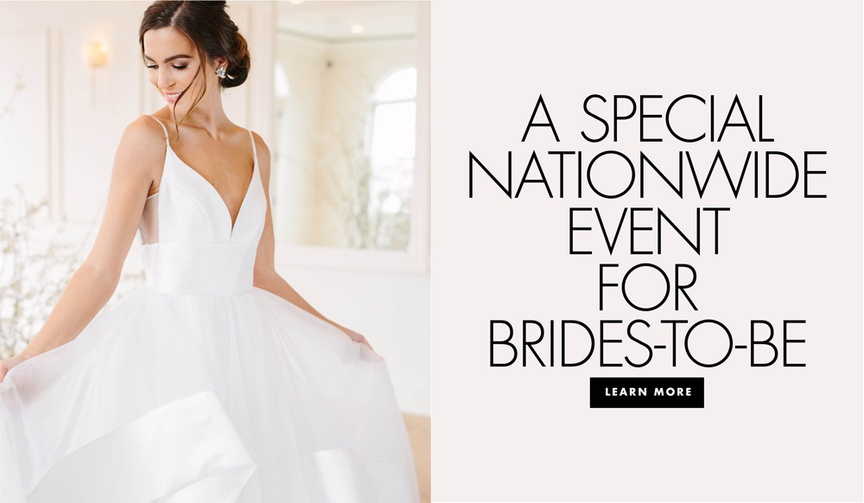 a special nationwide event for brides the national bridal sale event