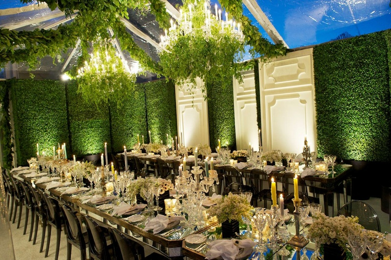 Tented Rooftop Affair for Louis Vuitton