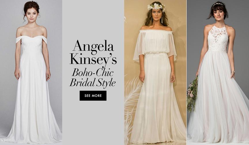 boho chic relaxed dresses angela kinsey joshua synder the office days of our lives one shoulder