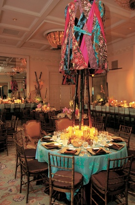 Unique reception room with Cal-Asian theme