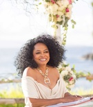 Wedding ceremony in Hawaii Montage Kapalua Bay Diana Ross officiates