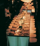 Rectangular tables and simple tablescape