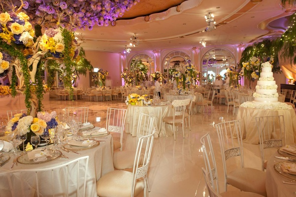 Beverly Hills Hotel garden-inspired banquet hall