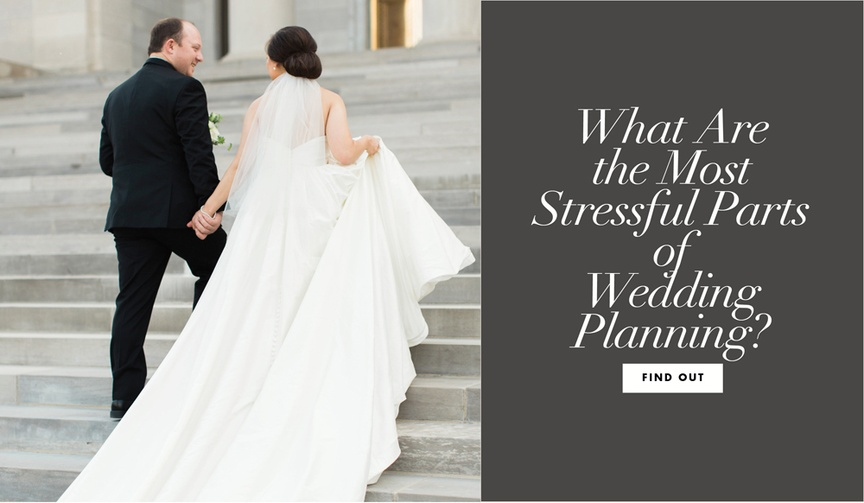 what part of wedding planning is the most stressful