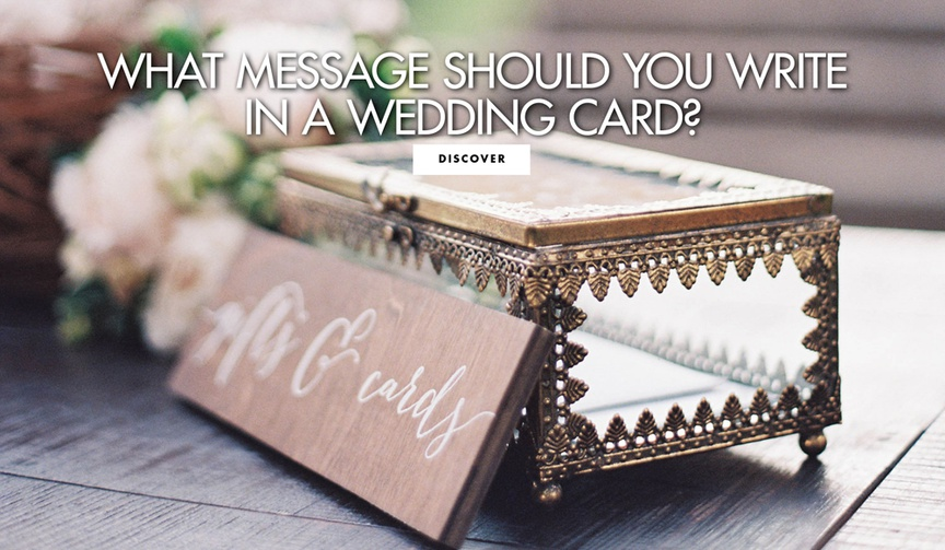 What message should you write in a wedding card guest faq advice