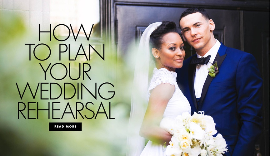 How to plan your wedding rehearsal for the ceremony